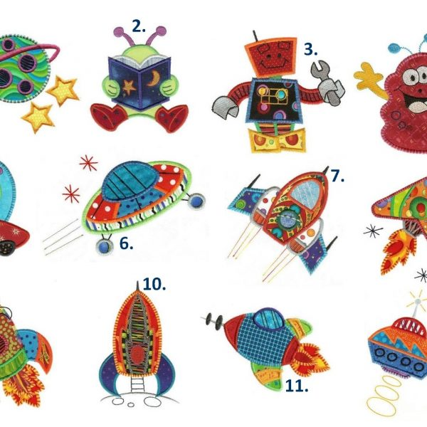KINDERBEDDENGOED THEMA SPACE ALIENS